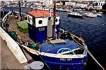 SC2484 : Peel - West Quay - Fishing boat  Manx Clover by Joseph Mischyshyn