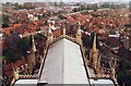 SE6052 : View East from York Minster by David P Howard