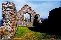 SC2484 : Peel Castle interior - Stone building interior by Joseph Mischyshyn