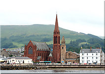 NS2059 : Largs Churches by Peter Langsdale