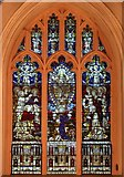 TL8783 : St Cuthbert, Thetford, Norfolk - Window by John Salmon