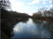 SZ0995 : Bournemouth : The River Stour by Lewis Clarke