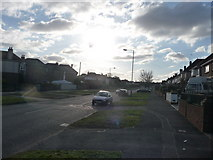 SZ0995 : Bournemouth : Muscliff - Muscliffe Lane by Lewis Clarke