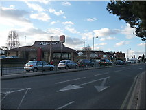 SZ0995 : Bournemouth : Muscliff - Castle Lane West by Lewis Clarke