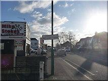 SZ0995 : Bournemouth : Moordown - Wimborne Road by Lewis Clarke