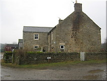 NZ0637 : Leazes Farmhouse Wolsingham by peter robinson