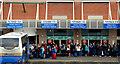 J3373 : The Europa Buscentre, Belfast by Albert Bridge