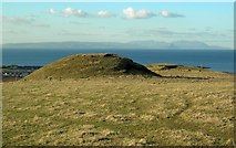 NS2107 : The Motte Above Maidens by Mary and Angus Hogg