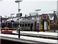 SK9135 : Platform 4, Grantham railway station by Peter Langsdale
