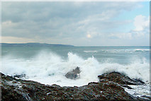 SW5842 : Winter waves at Godrevy (9) by Andy F