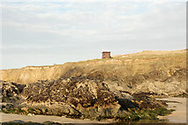 SW5842 : Lifeguard hut near Godrevy beach by Andy F
