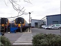 SU4212 : Northam Traincare Depot by David Martin