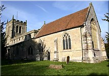 SP2160 : Church of St James the Great, Snitterfield by David P Howard