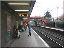 NZ2567 : Metro station, South Gosforth by Roger Cornfoot