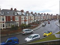 NZ3671 : Windsor Crescent, Whitley Bay by Roger Cornfoot