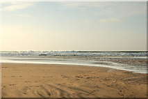 SW5742 : The Red River meets the sea at low water (2) by Andy F