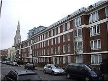 TQ3179 : William Blake Estate, Hercules Road Lambeth by PAUL FARMER