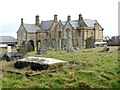 NZ4250 : 'Greystones' from the churchyard of St Mary the Virgin, Seaham by Andrew Curtis