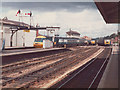 SX9193 : Changeover time at Exeter St Davids by Stephen Craven