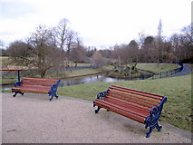 SJ3787 : Sefton Park - view north from the Rathbone statue by John S Turner