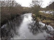 NY9127 : River Tees by Les Hull