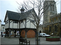 SP7387 : Market Harborough-The Old Grammar School by Ian Rob