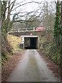 SW8056 : A3075 overbridge at Rejerrah by Rod Allday