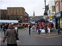 SP0198 : Saturday Market by Gordon Griffiths
