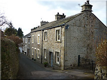 SD5464 : Stone terrace, Brookhouse by Karl and Ali