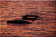 ND4798 : Exposed shipwreck by Ian Balcombe