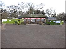 SJ3787 : Sefton Park - the Aviary Cafe by John S Turner