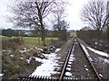 TQ8633 : Kent and East Sussex Railway to Rolvenden Station by David Anstiss