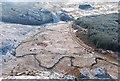NM8503 : Wintry moorland by Patrick Mackie