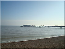 TR3752 : Deal pier by Stacey Harris