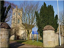 NS7177 : Kilsyth Burns & Old Parish Church by Texas Radio and The Big Beat