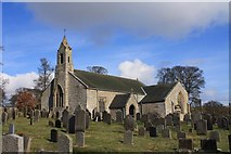 NY9393 : St Cuthbert's Church, Elsdon by Colin Kinnear