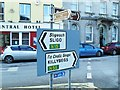 G9278 : Signs in The Diamond, Donegal by Dean Molyneaux