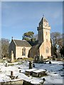 NH8449 : Cawdor Church by nairnbairn