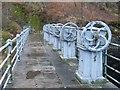 NN4806 : Loch Katrine dam by Stephen Sweeney