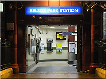 TQ2785 : The entrance to Belsize Park tube station by Mike Quinn