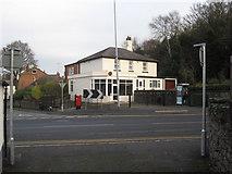 SJ3057 : Formerly Caergwrle post office by John S Turner