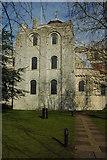 SU3521 : Romsey Abbey by Philip Halling