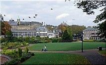 SK0573 : Pavilion Gardens by Peter Teal