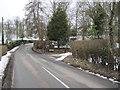 SJ2430 : Bend in road east of Rhydycroesau by John Firth