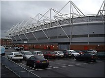 SU4212 : Northam Stand, St Mary's Stadium by Stanley Howe
