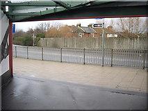 SU4212 : Western exit from railway footbridge by Stanley Howe