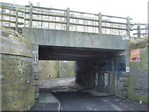 NT2774 : Clockmill Lane railway bridge by kim traynor
