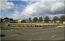 SU1584 : Site of Skurrays motor dealers, Drove Road, Swindon by Brian Robert Marshall