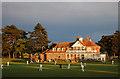 SZ1192 : King's Park Cricket Pavilion and Cafe by Elaine M Findlay