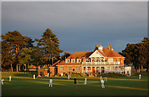 SZ1192 : King's Park Cricket Pavilion and Cafe by Elaine M Findlay